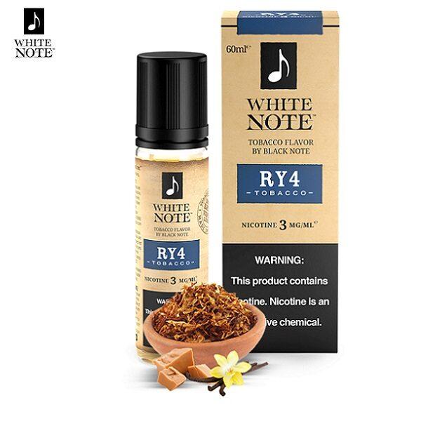 White Note RY4 Tobacco E-Liquid