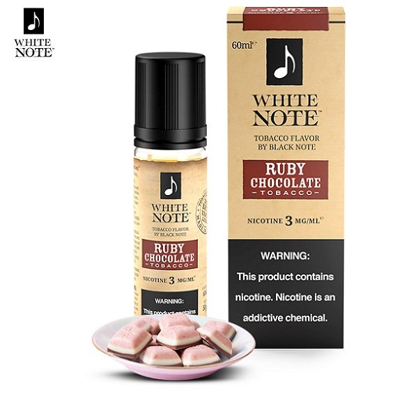 White Note Ruby Chocolate Tobacco E-Liquid