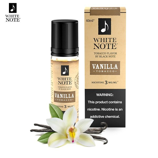 White Note Vanilla Tobacco E-Liquid