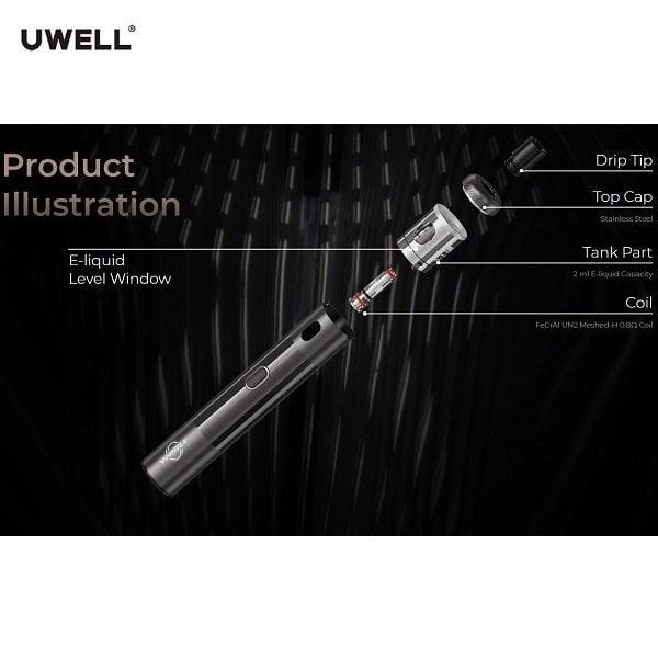 Uwell Whirl S Spezifikation
