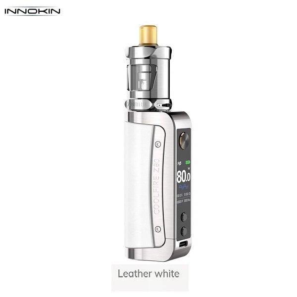 Innokin Coolfire Z80 Leather White
