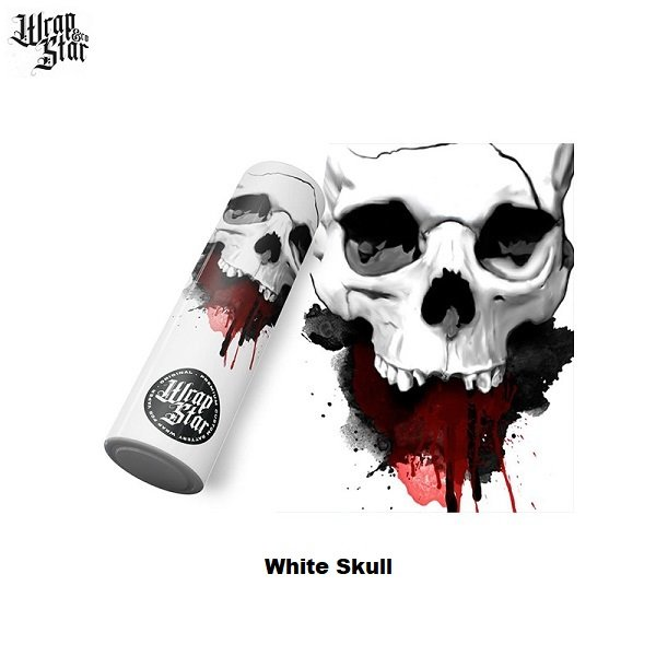 Wrap Star Akku Wrap White Skull
