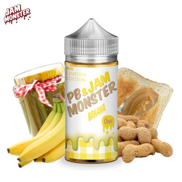 Jam Monster PB Banana E-Liquid