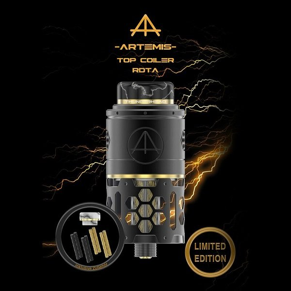 THC Artemis RDTA Limited Lieferumfang